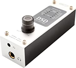 Portable USB DSD 192 KHz / 24bit DAC and Headphone Amplifier – DSD64 DSD128. Use with Smartphones/Digital Audio Players/Tablets/Laptops