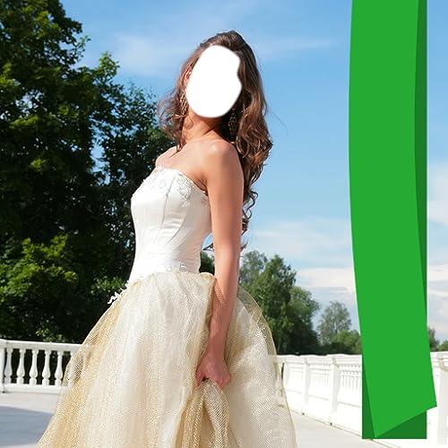 Prinzessin Kleid Foto Montage