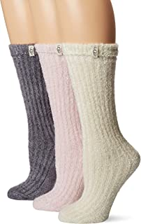 UGG Women's Cozy Sparkle Sock Gift Set Sockshosiery