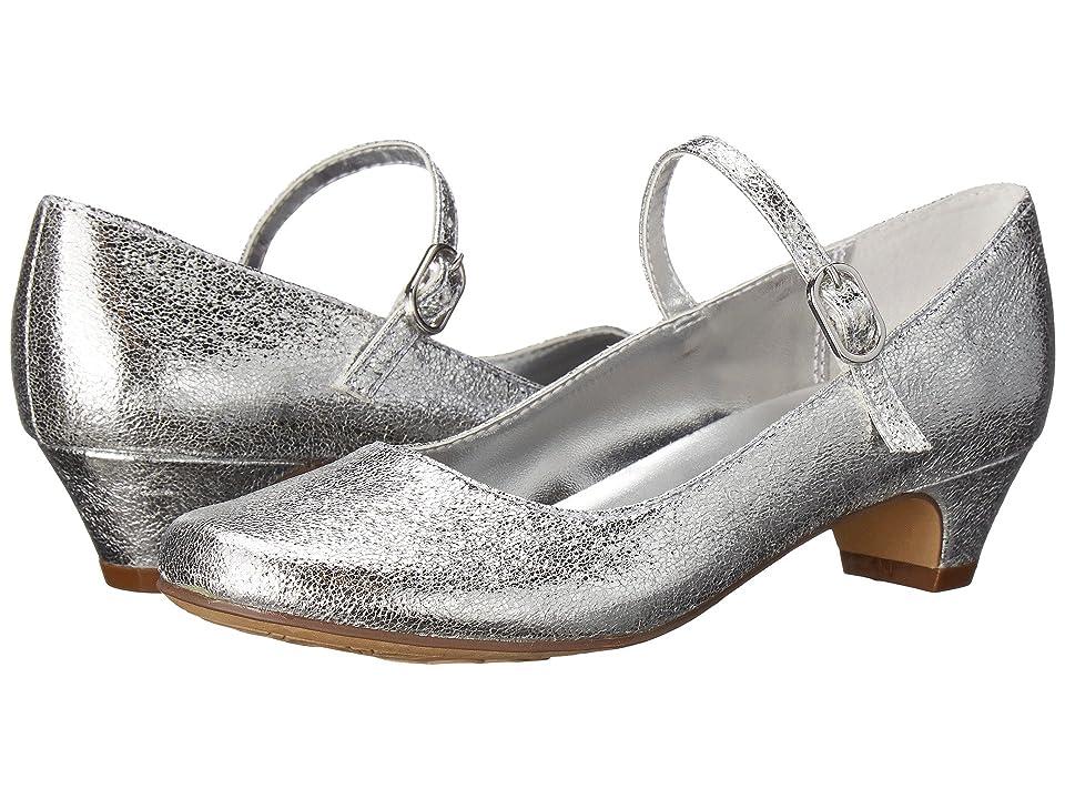 Nina Kids Seeley 3 (Little Kid/Big Kid) (Silver) Girls Shoes