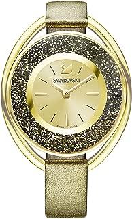 Swarovski Crystalline Oval Ladies Watch - Golden - 5296314
