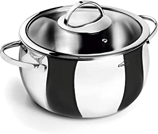 Lacor - 79120 - Olla con Tapa Belly 20 cm. Inox