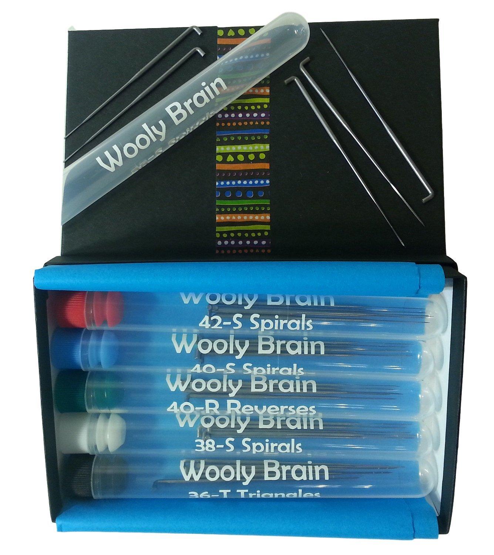 A Variety of Needle Felting Needle Packs Heidifeathers® Mixed Felting Needles
