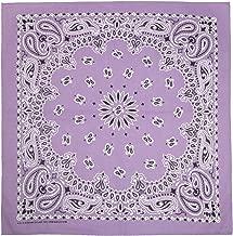 Best light purple bandana Reviews