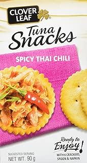 Clover Leaf Tuna Salad Kit Spicy Thai Chili, 12 Count