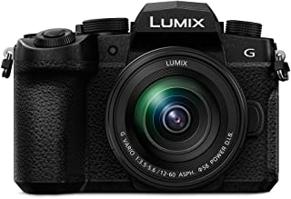 """Panasonic Lumix G90M - Cámara EVIL de 20.3 MP (pantalla de 3.2"""", Visor OLED, Estabilizador Dual 5 ejes, 4K, VLogL, Wi-Fi, ..."""