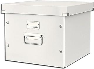 Leitz Boîte de Rangement pour Dossiers Suspendus, A4, Click & Store, 60460001 - Blanc
