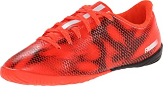 F10 Youth Indoor Shoes (Solred/FTWWHT/CBLACK) (13.5)