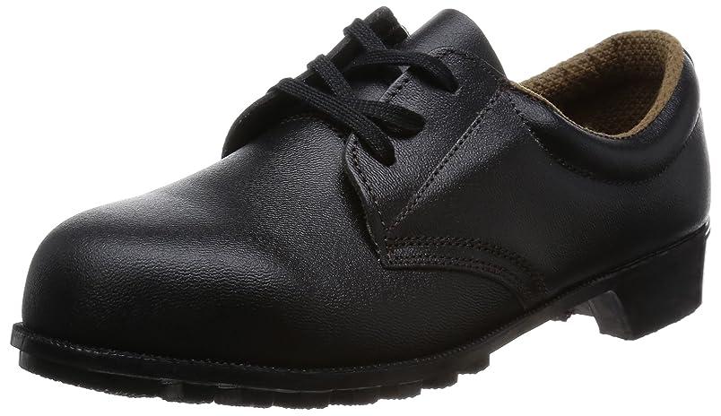 フリース食料品店報告書安全靴 短靴 JIS規格 マジック 耐油?耐熱 耐薬品 紐 FD11