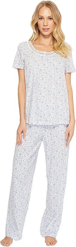 Carole Hochman - Soft Jersey Long Pajama