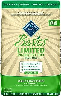 Blue Buffalo Blue Basics Limited Ingredient Grain Free Lamb & Potato Adult Dog Food