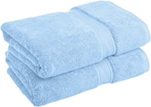 Superior 900GSM BATH LB Towel Set, 2PC, Light Blue