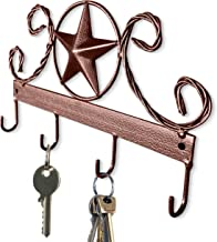 Sponsored Ad - Brown Texas Country Western Key Holder - Rustic Wall Décor Key Hanger for Home, Vintage Metal Key Hangers f...