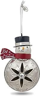 Hallmark Keepsake 2017 Let It Snowman Premium Metal Christmas Ornament