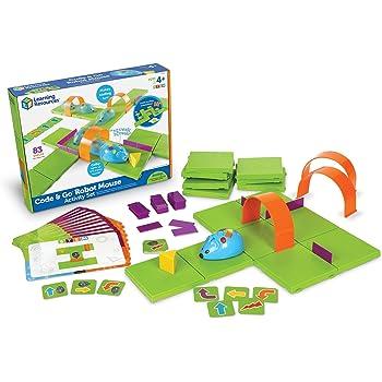 ラーニングリソーシズ 幼児向けプログラミング教材 プログラミングロボット ロボットマウス アクティビティセット LER2831 正規品