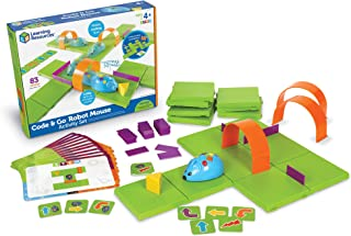 Learning Resources Code & Go Robot Mouse Activity Set, 83 Piece, Ages 4+