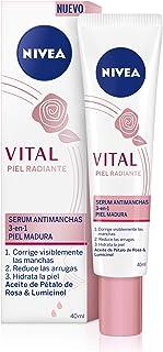 NIVEA VITAL Piel Radiante Sérum Antimanchas (1 x 40 ml) sérum facial antiarrugas antimanchas e hidratante sérum antieda...