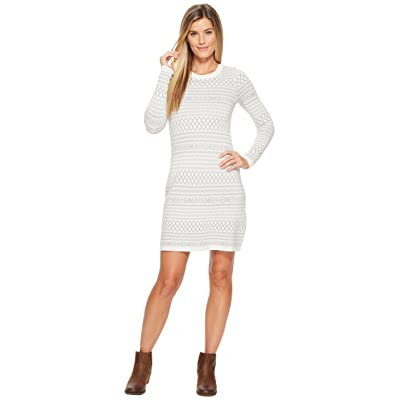 Aventura Clothing Fallon Dress (Whisper White/Griffin Grey) Women