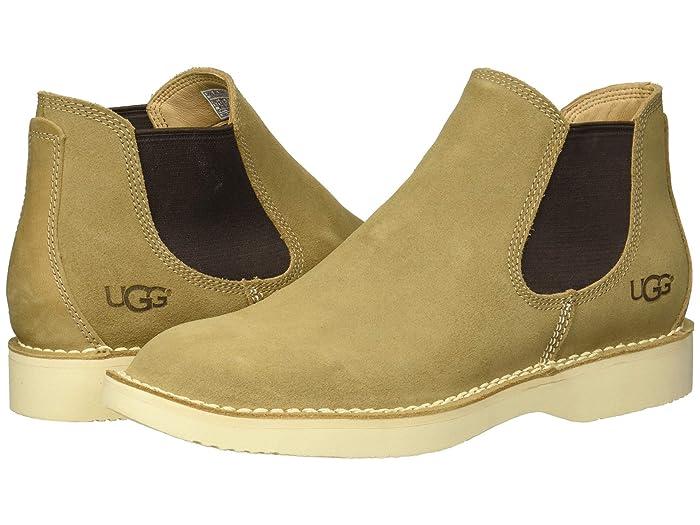 UGG  Camino Chelsea Boot (Dark Tan) Mens Pull-on Boots