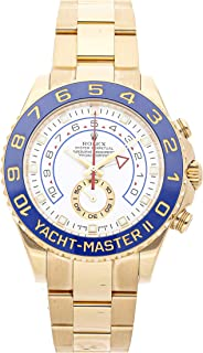 Rolex Yacht-Master II 44mm 2013 18K Yellow Gold Automatic Men's Watch BP 116688 (Certified Pre-Owned)