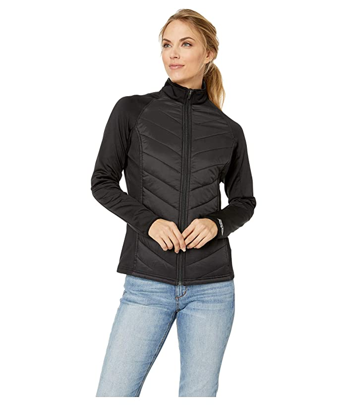 Straight Down Nova Hybrid Jacket (Black) Women