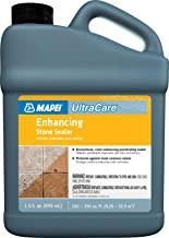 Mapei UltraCare Enhancing Stone Sealer - Keep Your Grout and Stone Clean from Soap Scum and Hard Water Stains - 32oz Bottle