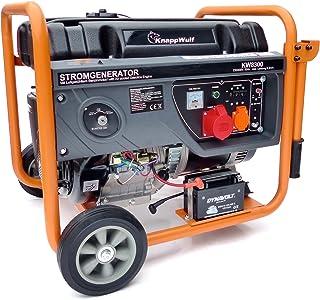 Generador de electricidad KnappWulf kw8300de gasolina generador de electricidad trifásica 230V + 400V