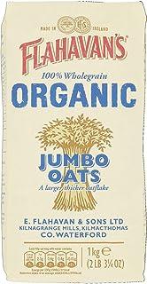 Flahavans Organic Jumbo Oats 1kg