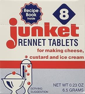 JUNKET RENNET TABLETS VNLA 8CT, 0.23 OZ