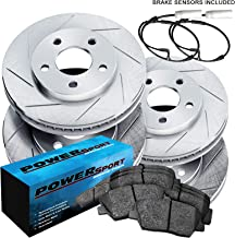 Front Only Power Stop KC2324 1-Click Performance Brake Kit with Caliper