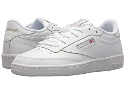 Reebok Lifestyle Club C 85 (White/Light Grey) Women