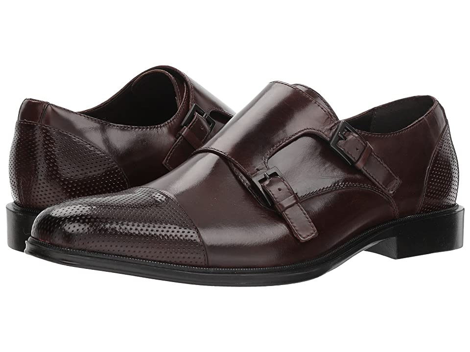Kenneth Cole Reaction Zac Monk (Brown Leather) Men