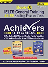 IELTS General Training Achievers 9 Bands 41-55 Reading Practice Tests Book - 3