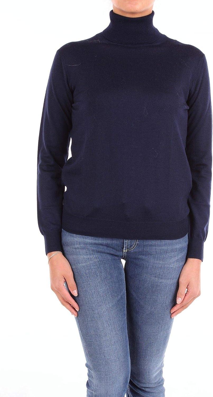 Altea Women's 1861602blueE bluee Wool Sweater
