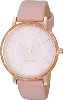 Women's Crystal Accented Strap Watch