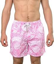 The Endless Summer Men's Pineapple Print Quick Dry Swim Trunks