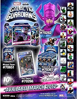 Marvel HeroClix Galactic Guardians Counter Top Display of 24 Random Figures