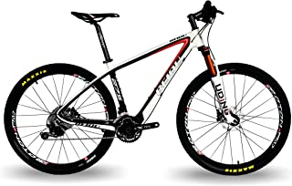 BEIOU Carbon 27.5 Hardtail Mountain Bike Shimano Deore M6000 3x10 Speed 650B MTB 2.10
