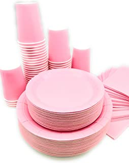 Serves 50   Complete Party Pack   Light Pink   9