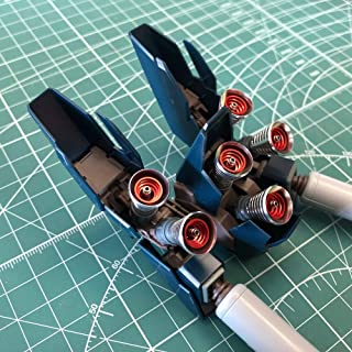 MG 1/100 Mobile Suit Gundam NT Sinanju Stein (Narrative Ver.) metal vernier set (Silver + Red)