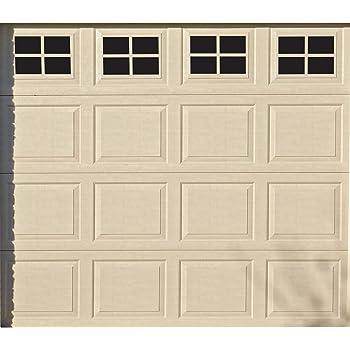Eapele Magnetic Garage Door Windows Hardware Faux Windows Decoration Kit For Two Car Metallic Garage 32pcs Amazon Com