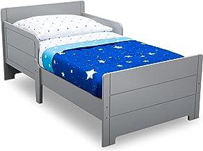 Delta Children MySize Toddler Bed, Grey