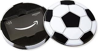 Amazon.com $25 Gift Card in a Soccer Tin
