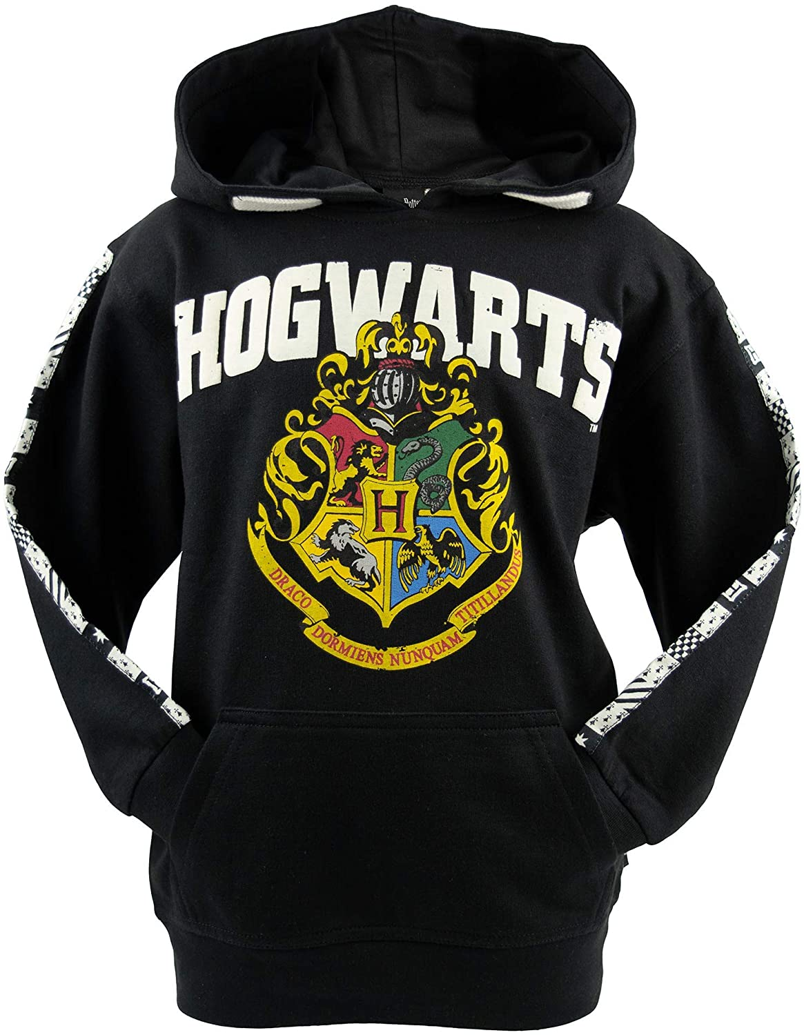 Licensed Unisex Kids Harry Potter Hogwarts Hoodie sizes 1 year to 13 years (1-2)