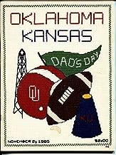 Oklahoma vs. Kansas NCAA Football Program November 2 1985