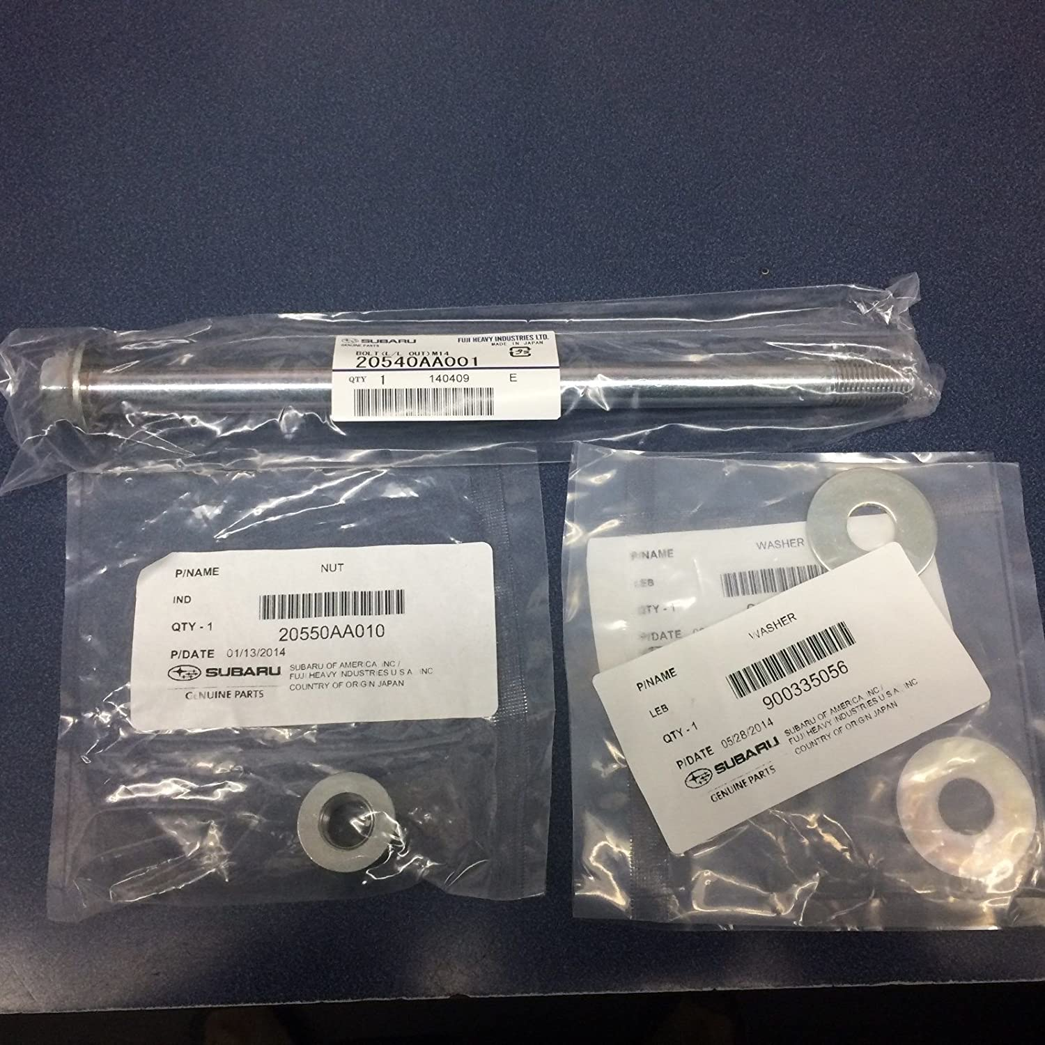 Genuine Subaru Rear Lateral Link Bolt Forester Ou Kit Louisville-Jefferson County Mall WRX Outlet ☆ Free Shipping Legacy