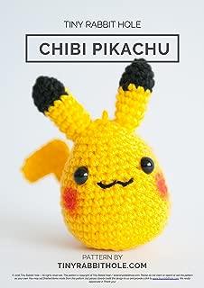 Cute Chibi Pikachu Amigurumi Pattern
