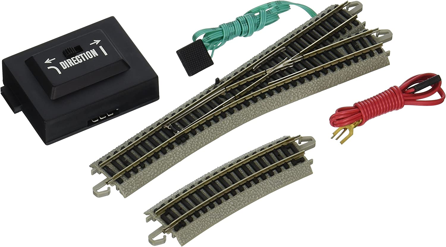 Bachmann Industries EZ Track 4 Turnout  Right (1 Card) N Scale