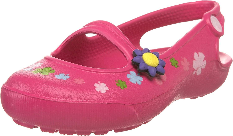 Crocs Girls' Gabby Flowers Flat