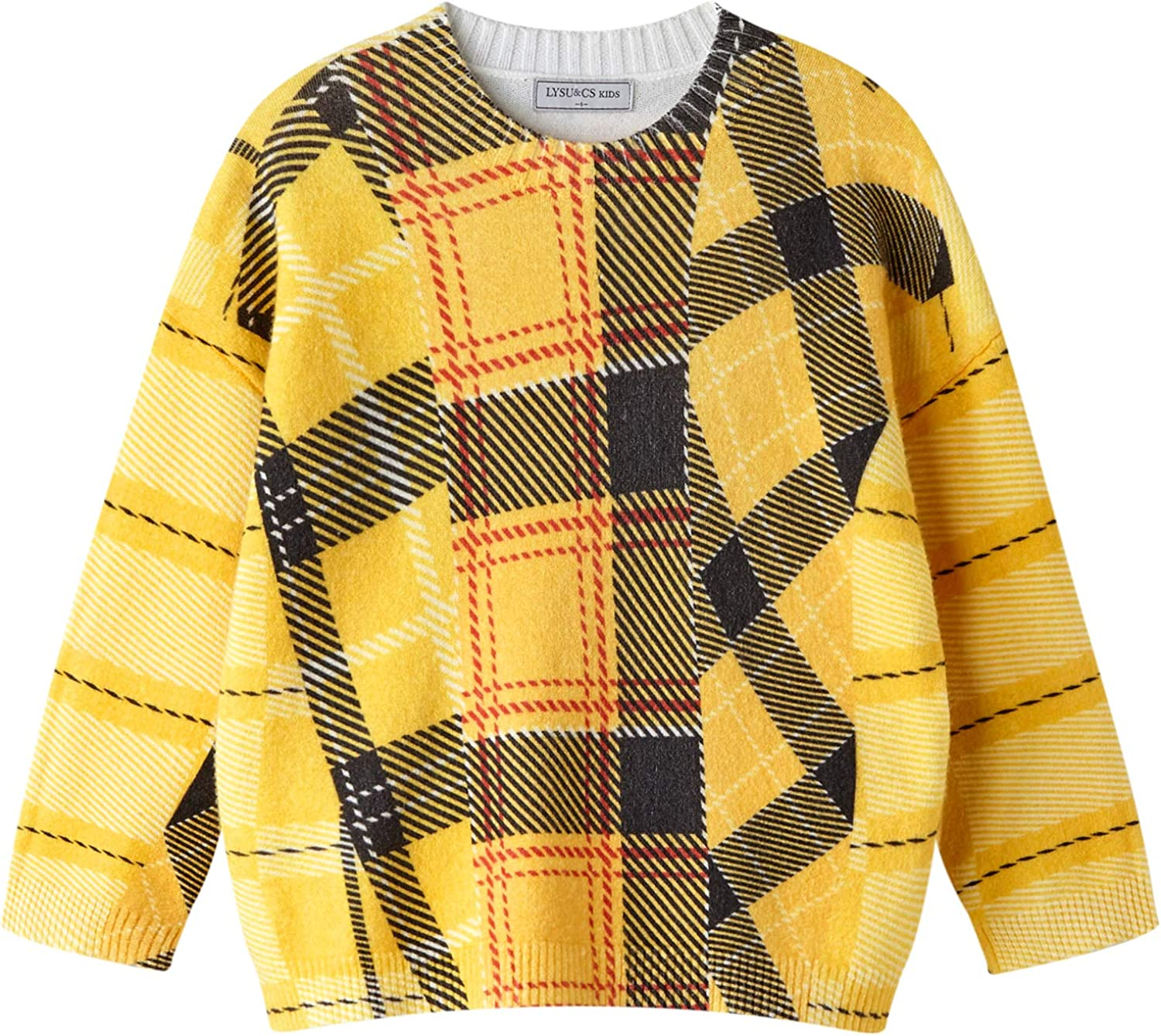 NEW before selling Award ☆ Girls Sweaters Pullover Toddler Boys Sleev Christmas Family Long